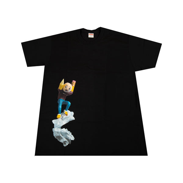 Supreme Black Mike Hill Regretter Tee
