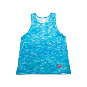 Supreme Blue Ripple Tank Top