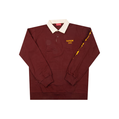 Supreme Burgundy Rugby Top