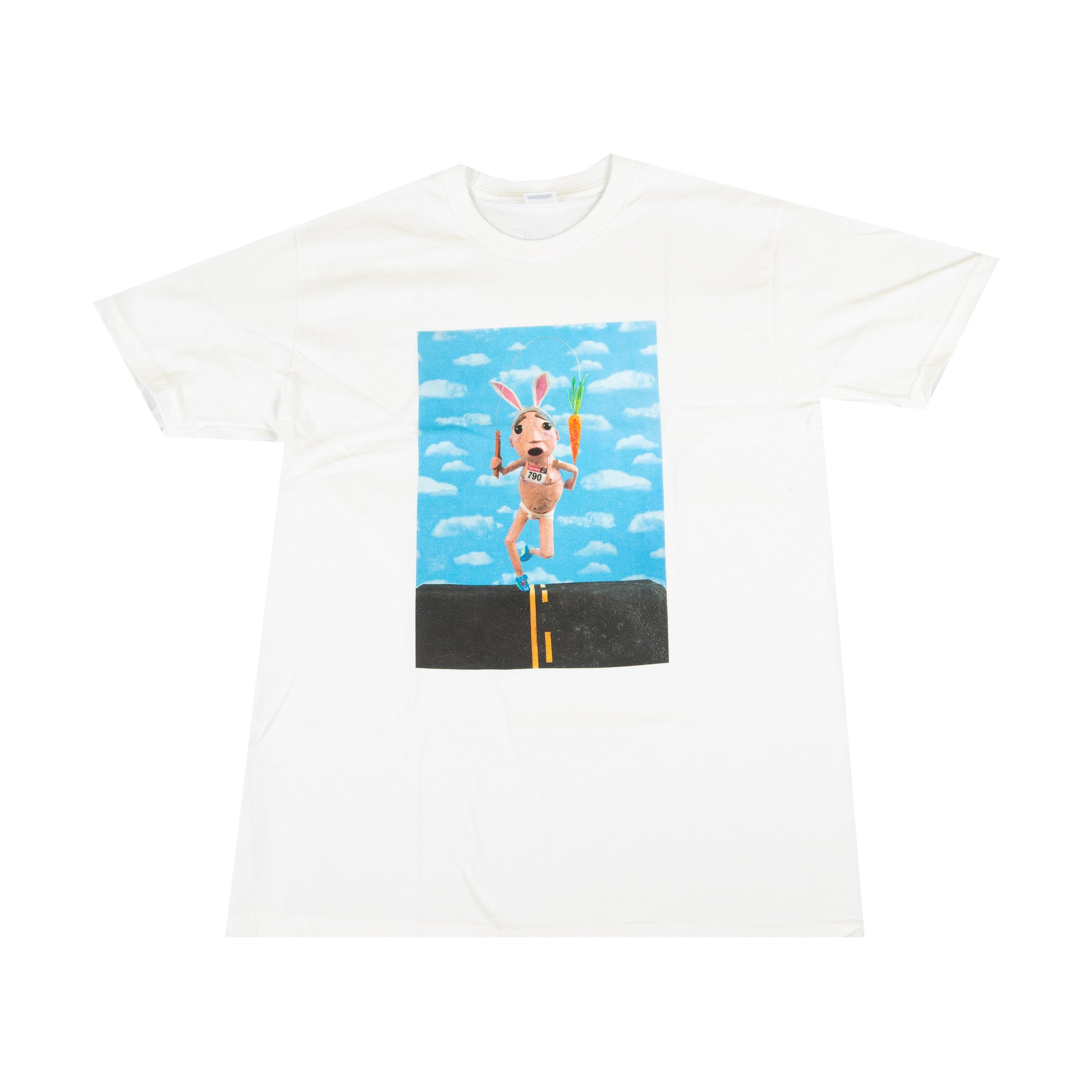 Supreme White Mike Hill Runner Tee