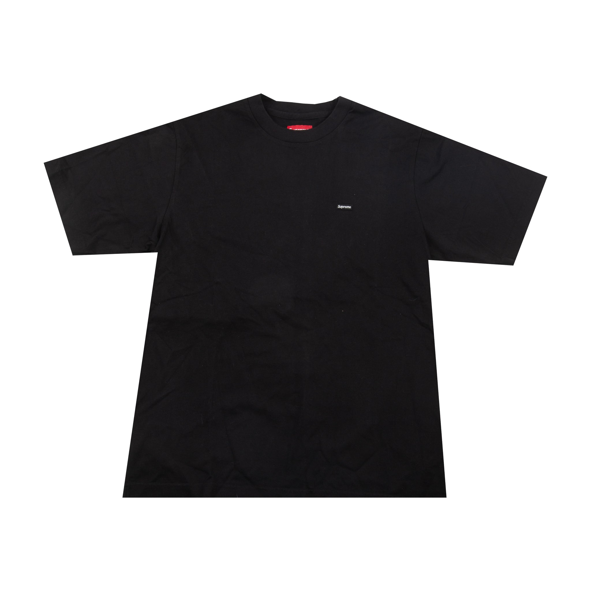 Supreme Black Small Box Logo Tee