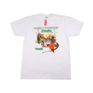 Supreme White Barrington Levy Shaolin Tee