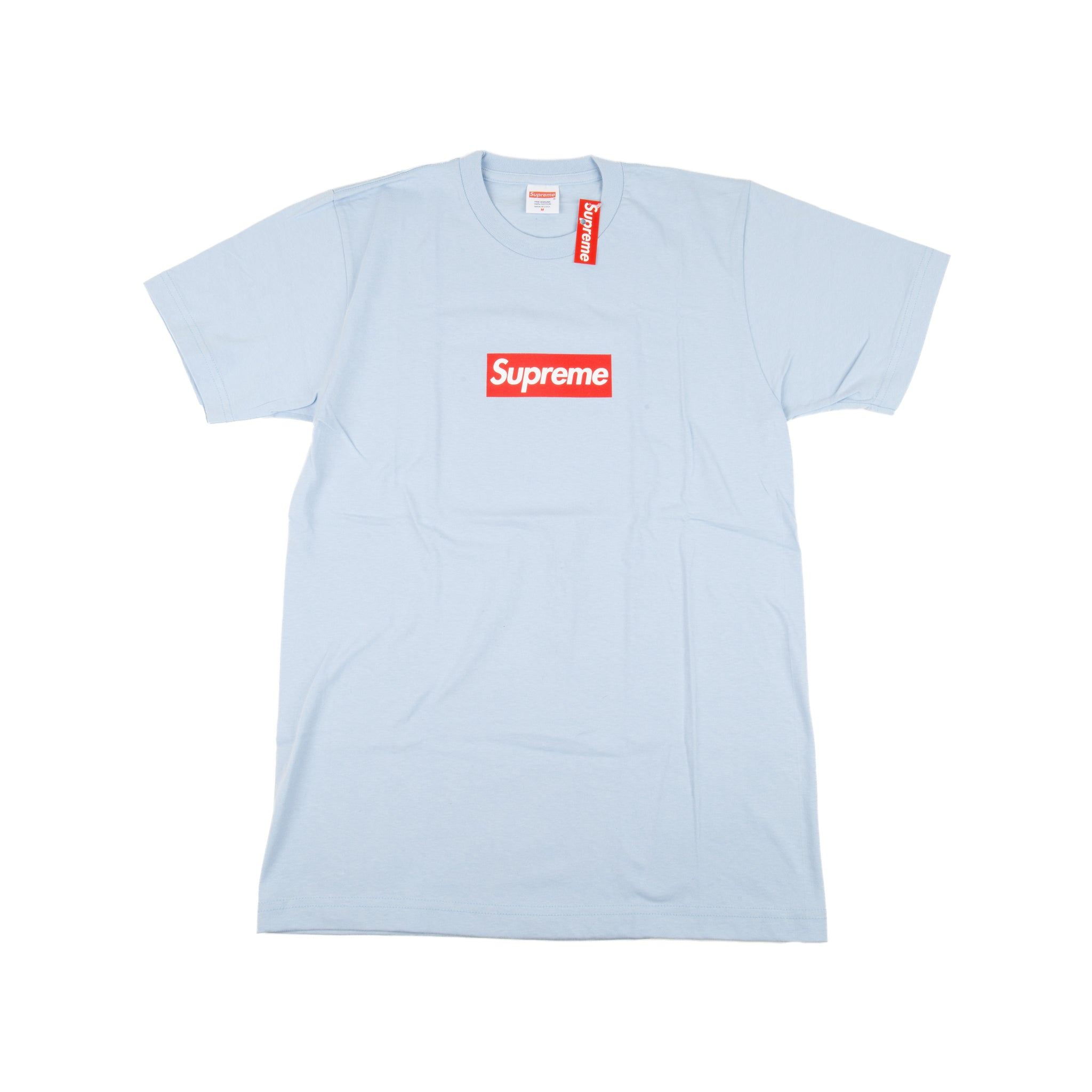 Supreme Sky Blue 20th Anniversary Box Logo Tee