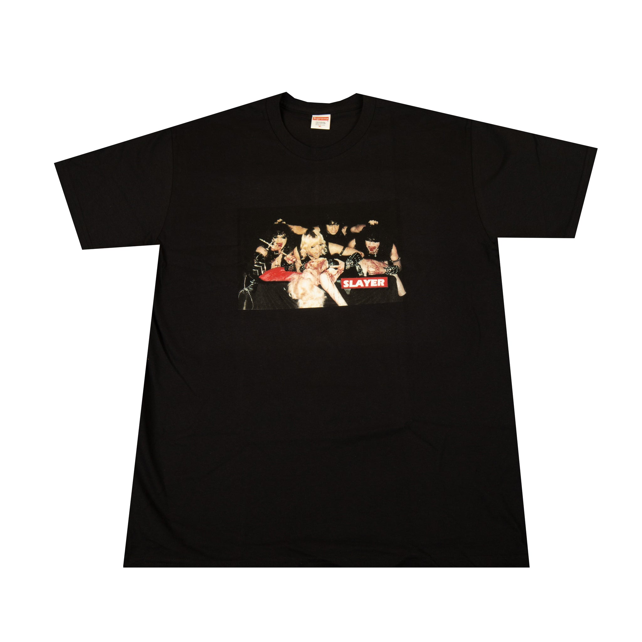 Supreme Black Slayer Altar Tee