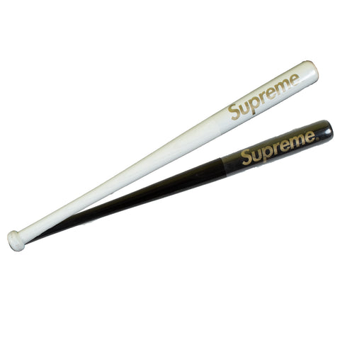 Supreme Black / White Mini Louisville Sluggers