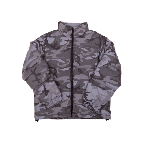 Supreme Snow Camo Reflective Jacket