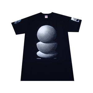 Supreme Black MC Escher Spheres Tee