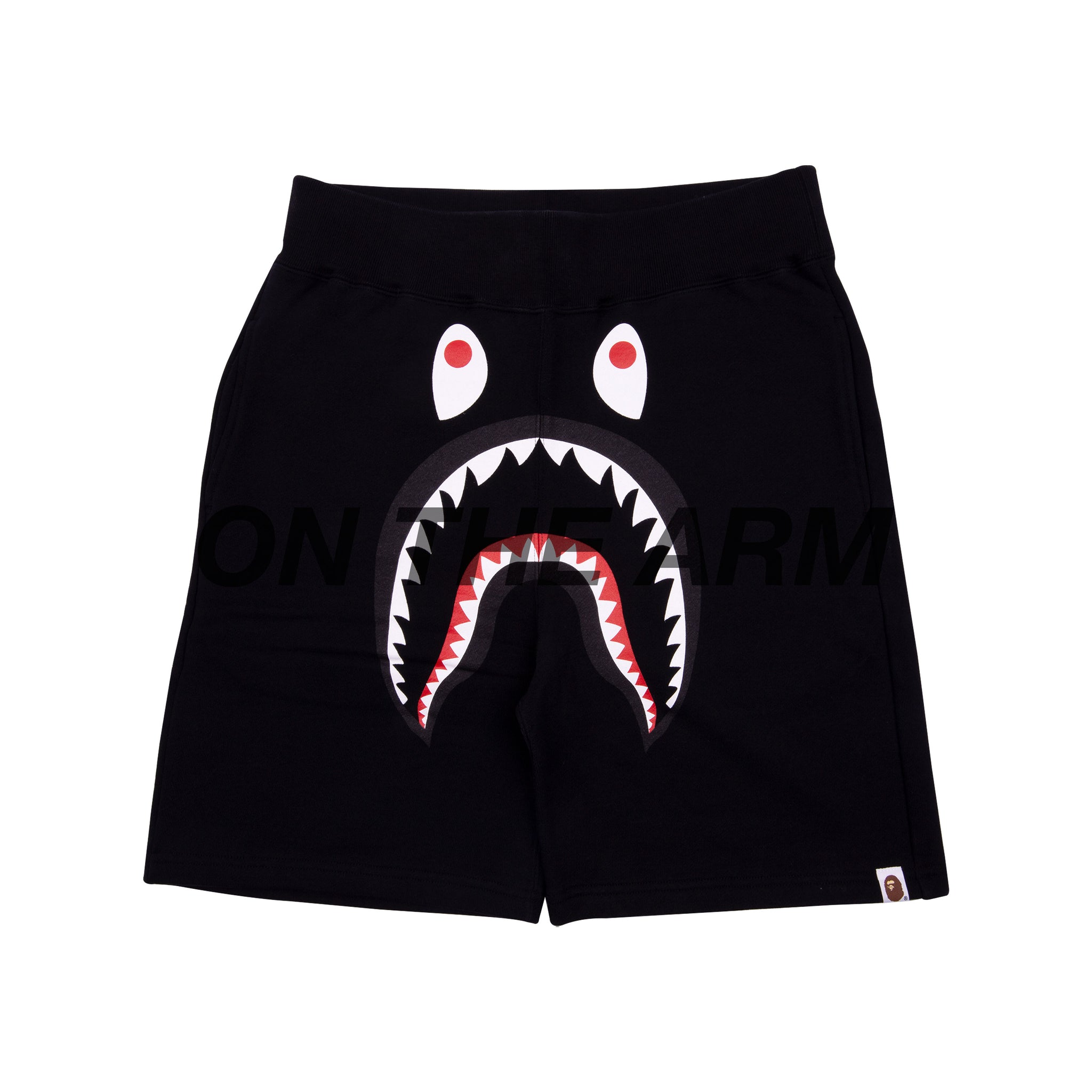 Bape Black Shark Shorts