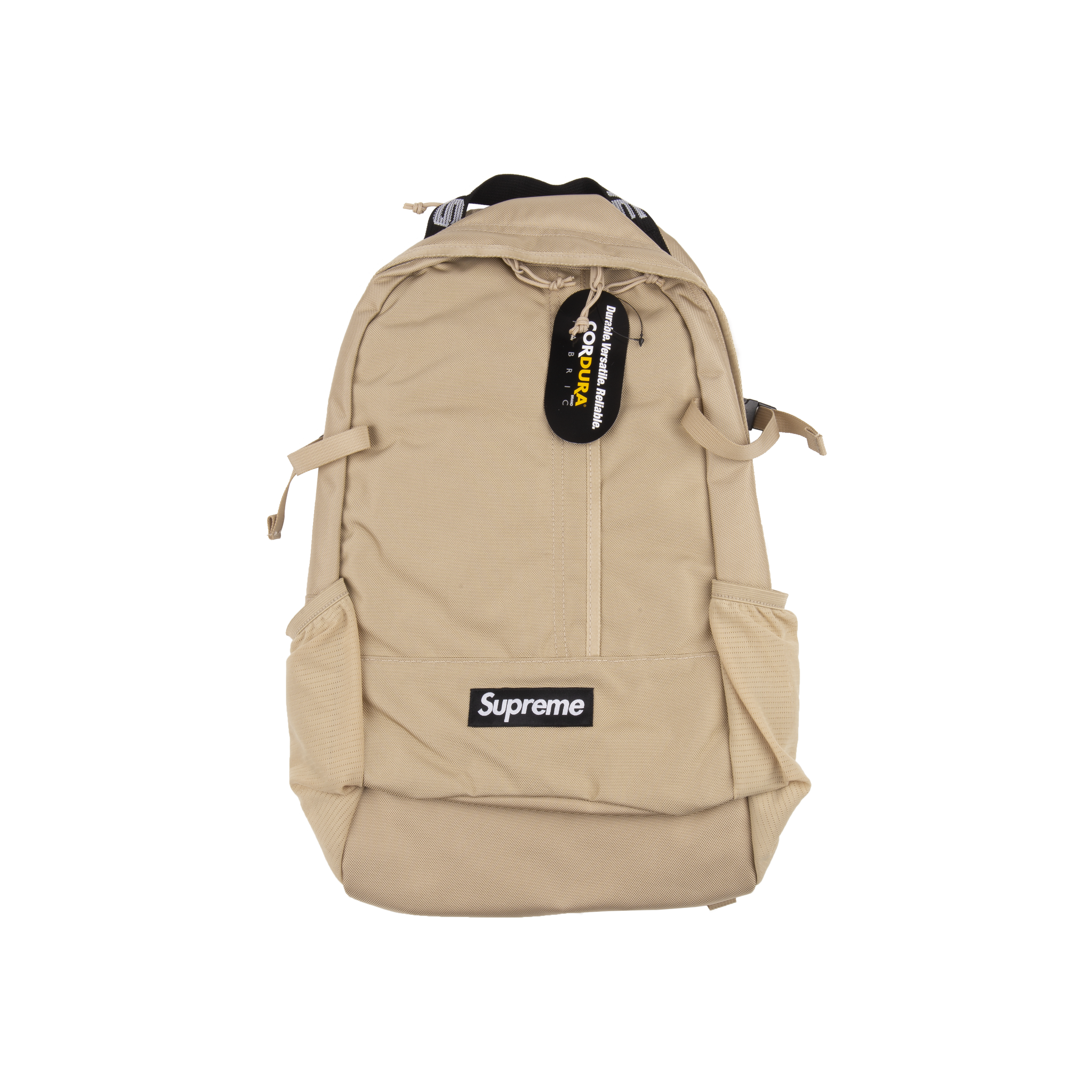 Supreme Tan SS18 Backpack