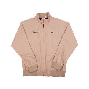 Supreme Lacoste Tan Harrington Jacket
