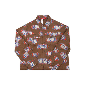 Supreme Tan 666 Denim Jacket