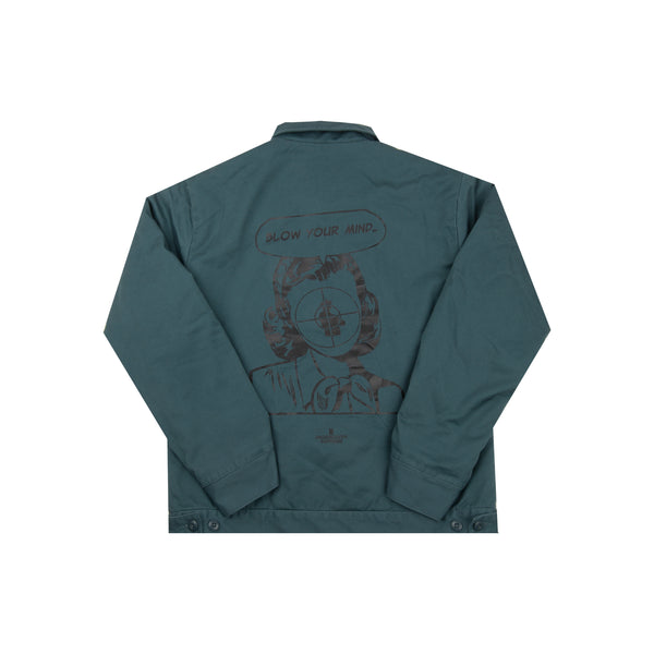 Supreme Teal Undercover Public Enemy Work Jacket