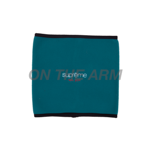 Supreme Teal Classic Logo Neck Gaitor