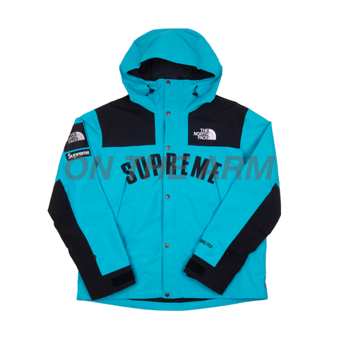 Supreme Teal Arc Logo Parka