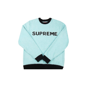 Supreme Blue Terry Cloth Crew