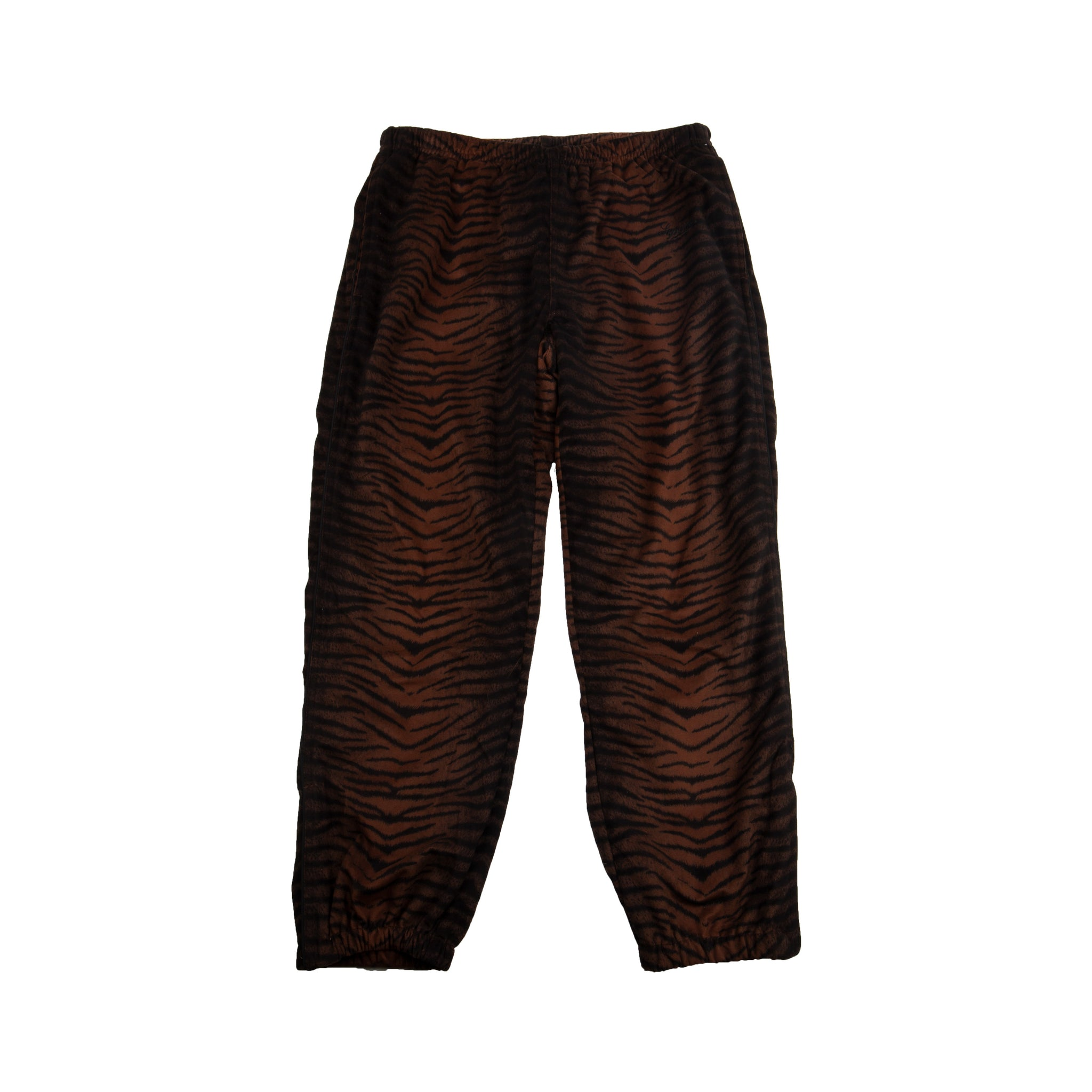Supreme Black Tiger Stripe Pants