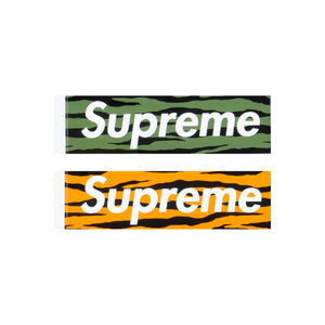 Supreme Zebra Box Logo Stickers