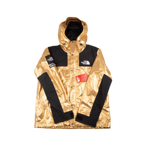 Supreme Gold TNF Metallic Parka