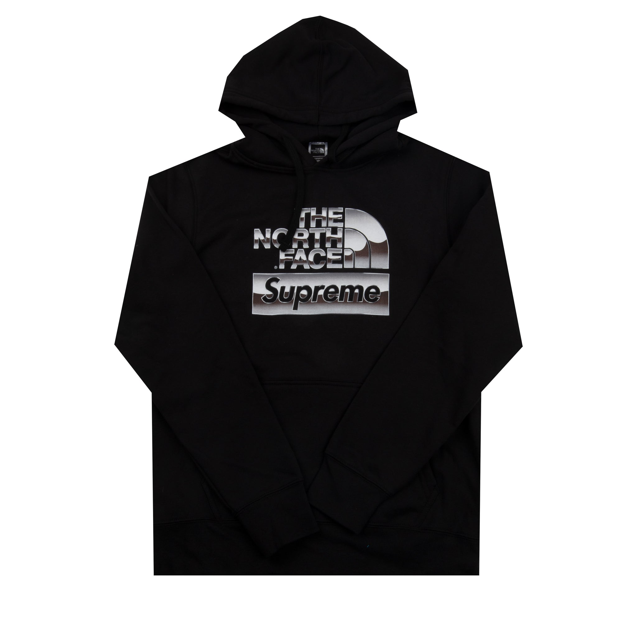 Supreme Black TNF Chrome Hoodie