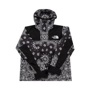 Supreme Black Paisley TNF Jacket