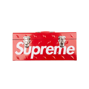 Supreme Red Diamond Plated Tool Box