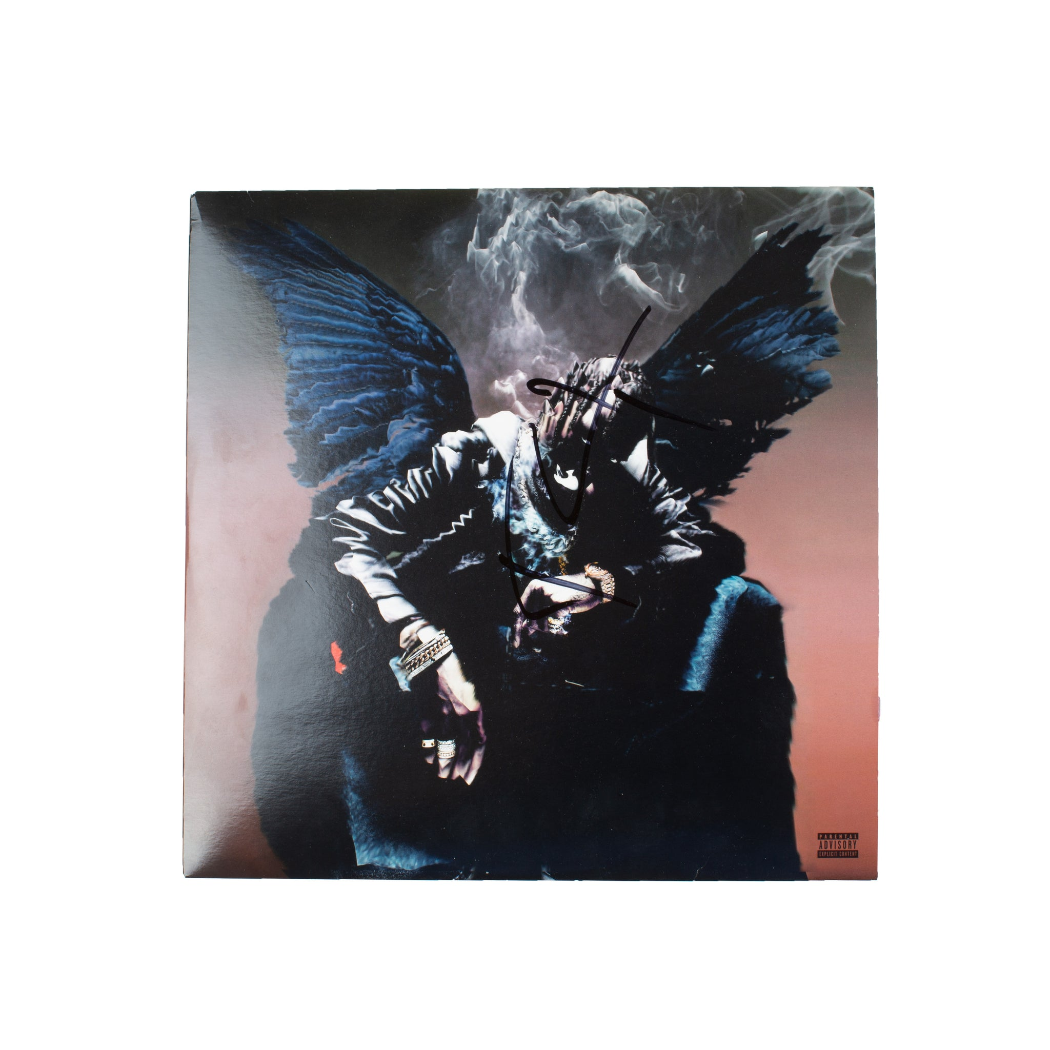 Travis Scott Signed BIRDS IN THE TRAP SING MCKNIGHT Vinyl