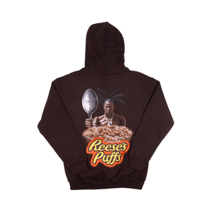 Travis Scott Brown Reeses Puffs Hoodie