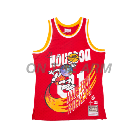 Travis Scott Red Rockets Jersey