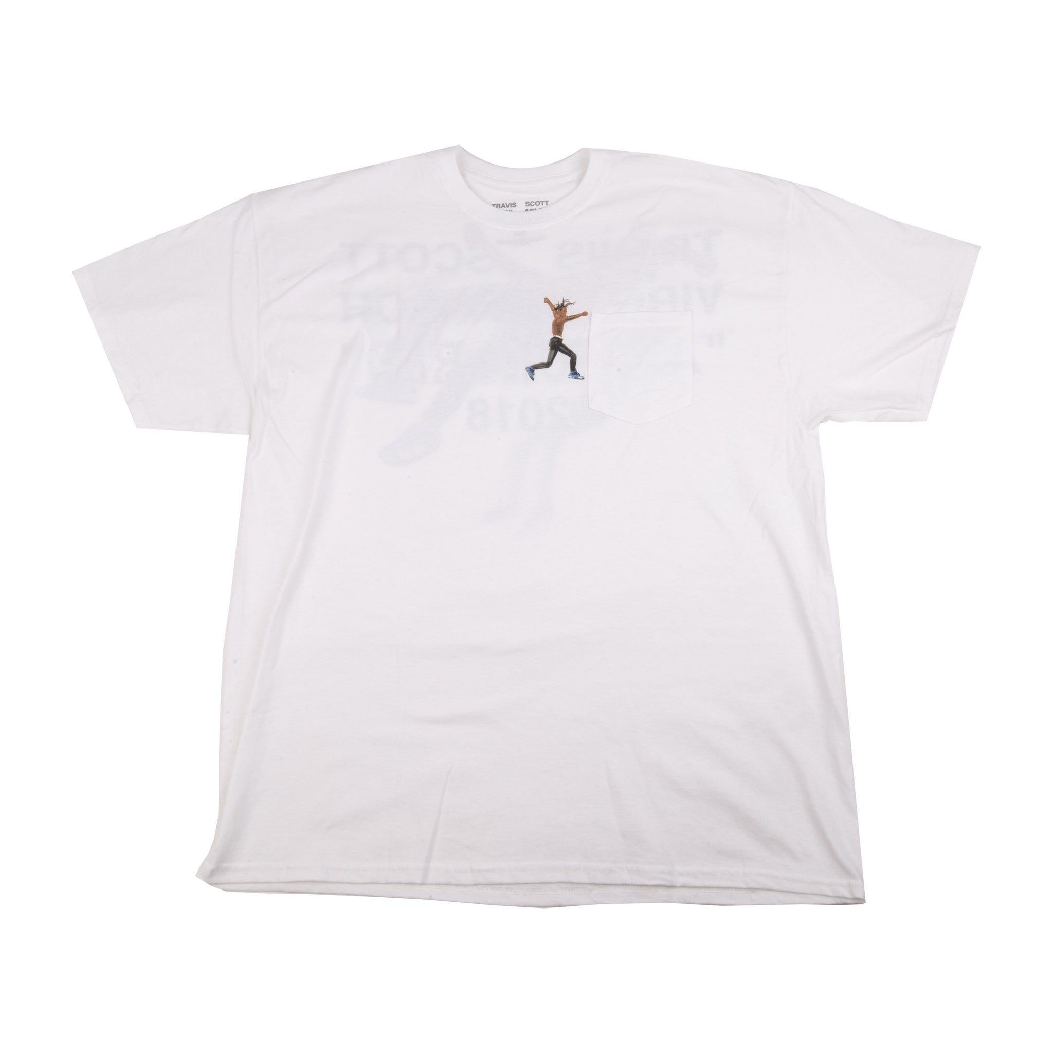 Travis Scott Off-White Virgil Abloh Tee