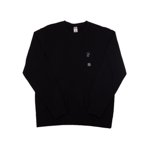 Uniqlo x Kaws Small Snoopy Black Crewneck