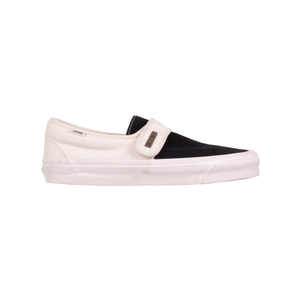 Vans White FOG Slip On