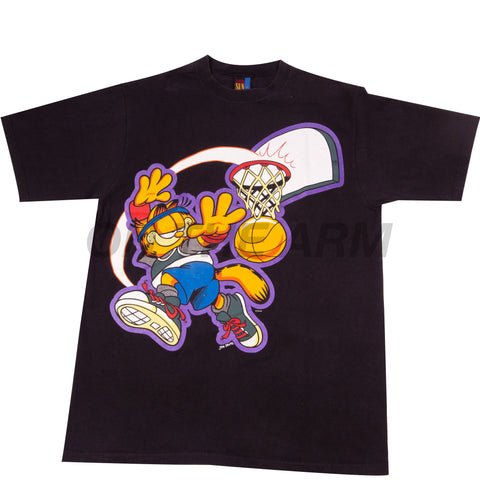 Vintage Black Garfield Basketball Tee
