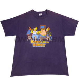 Vintage Navy Simpsons Homey Tee