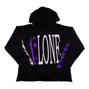 VLONE Black/Purple Palm Angels Hoodie