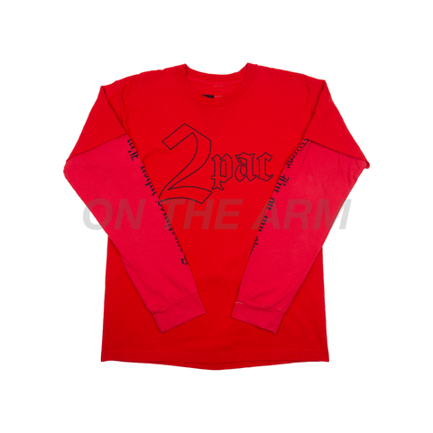 VLONE Red 2pac L/S