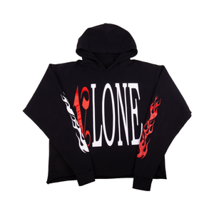 VLONE Black/Red Palm Angels Hoodie