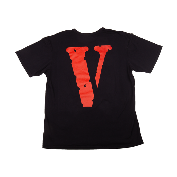 VLONE Black/Red Friends Tee
