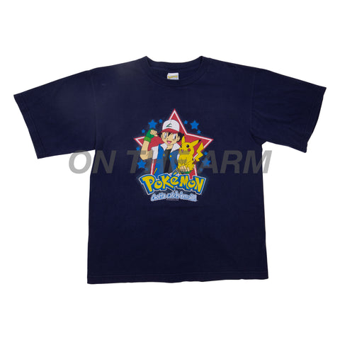 Vintage Navy Pokemon Tee