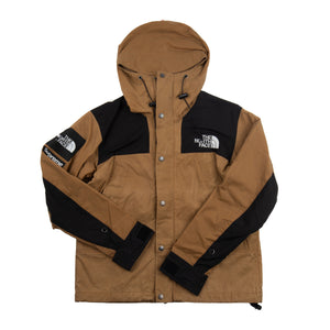 Supreme Brown Waxed Cotton TNF Jacket