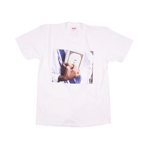 Supreme White Bible Tee