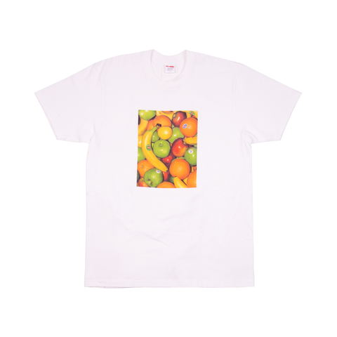 Supreme White Fruits Tee