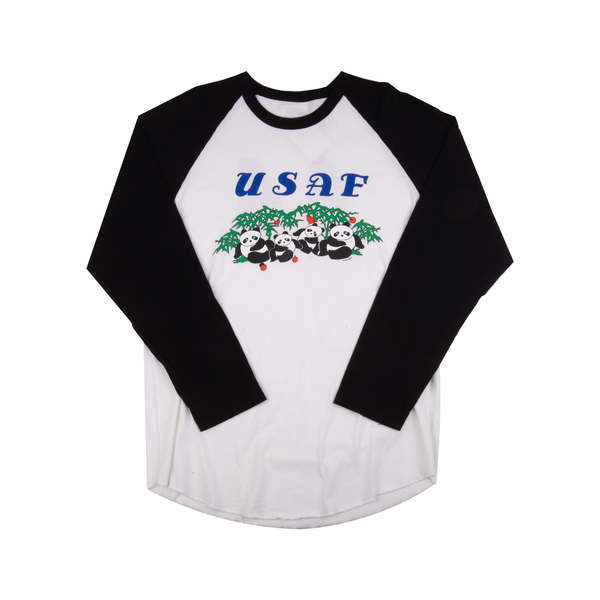 Supreme White Panda Baseball Top