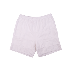 Supreme White Patchwork Pique Shorts