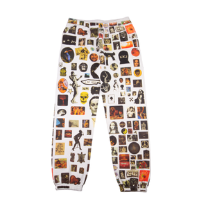 Supreme White Thrills Sweatpant