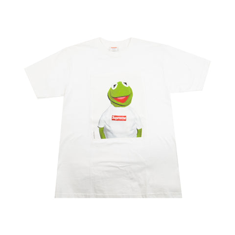 Supreme White Kermit the Frog Tee