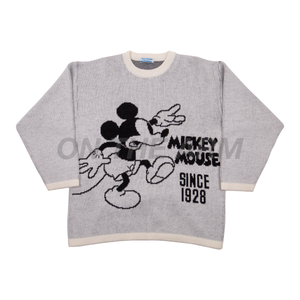 Vintage White Mickey Mouse Knit