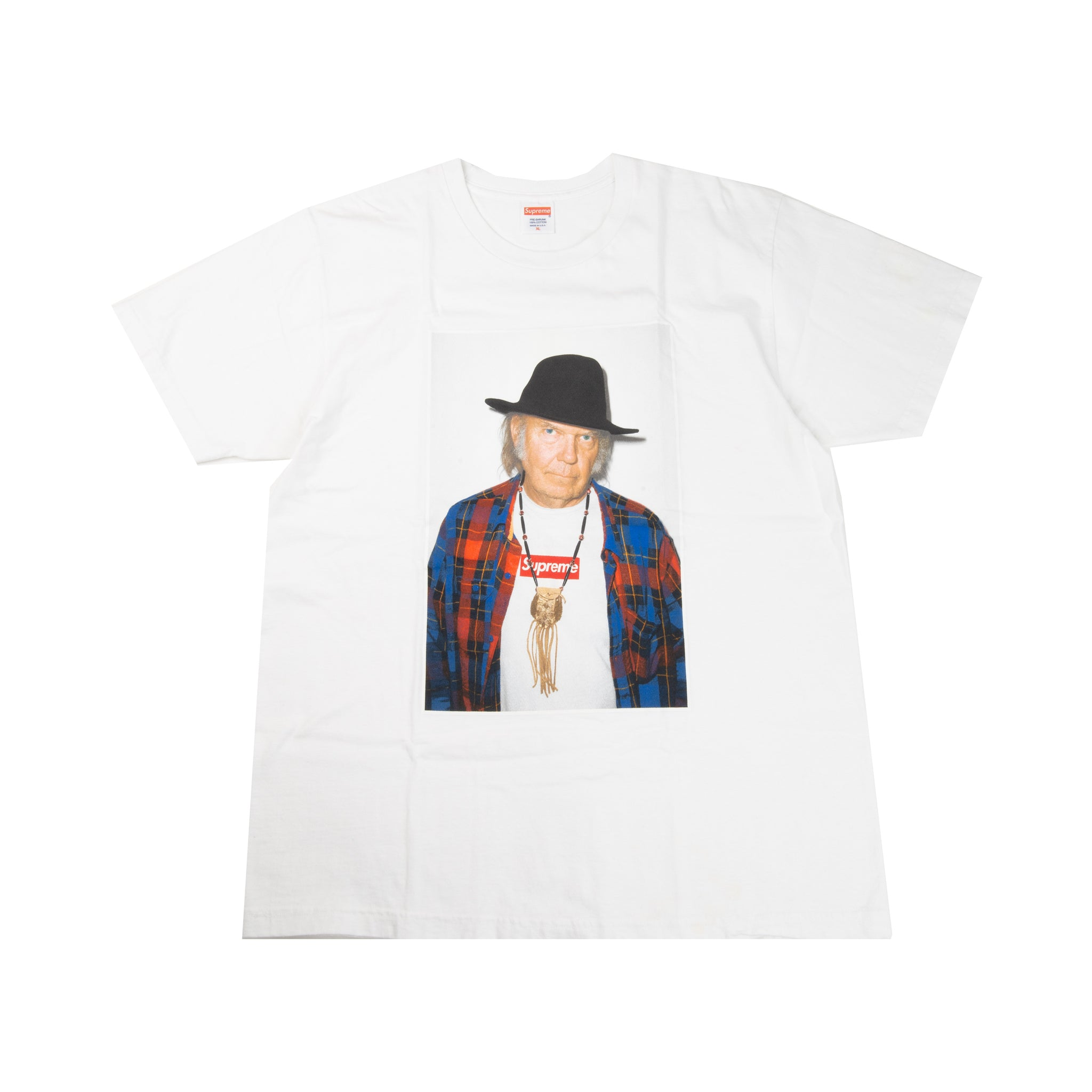Supreme White Neil Young Tee