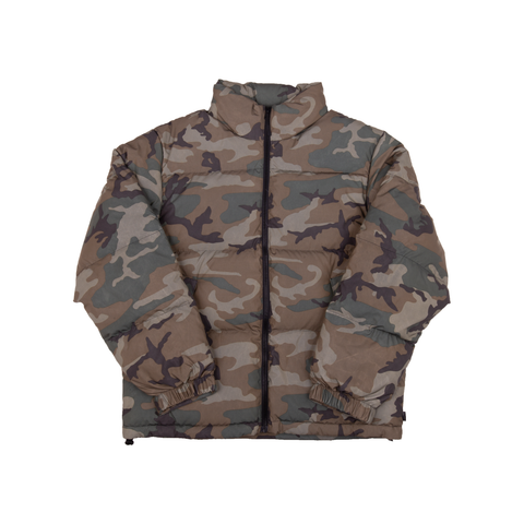 Supreme Woodland Camo Reflective Jacket