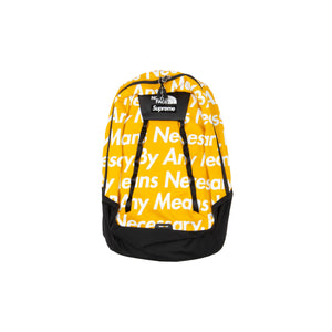 Supreme Yellow TNF By Any Means Backpack
