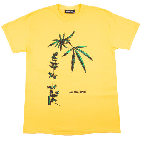 OTA Yellow Cannabis Tee